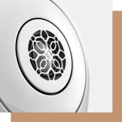 Devialet Phantom Speaker Lautsprecher in weiß und gold